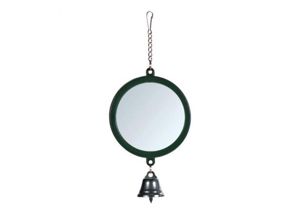 Trixie spiegel mit glocke kunststoff - Spiegel mit kette ...