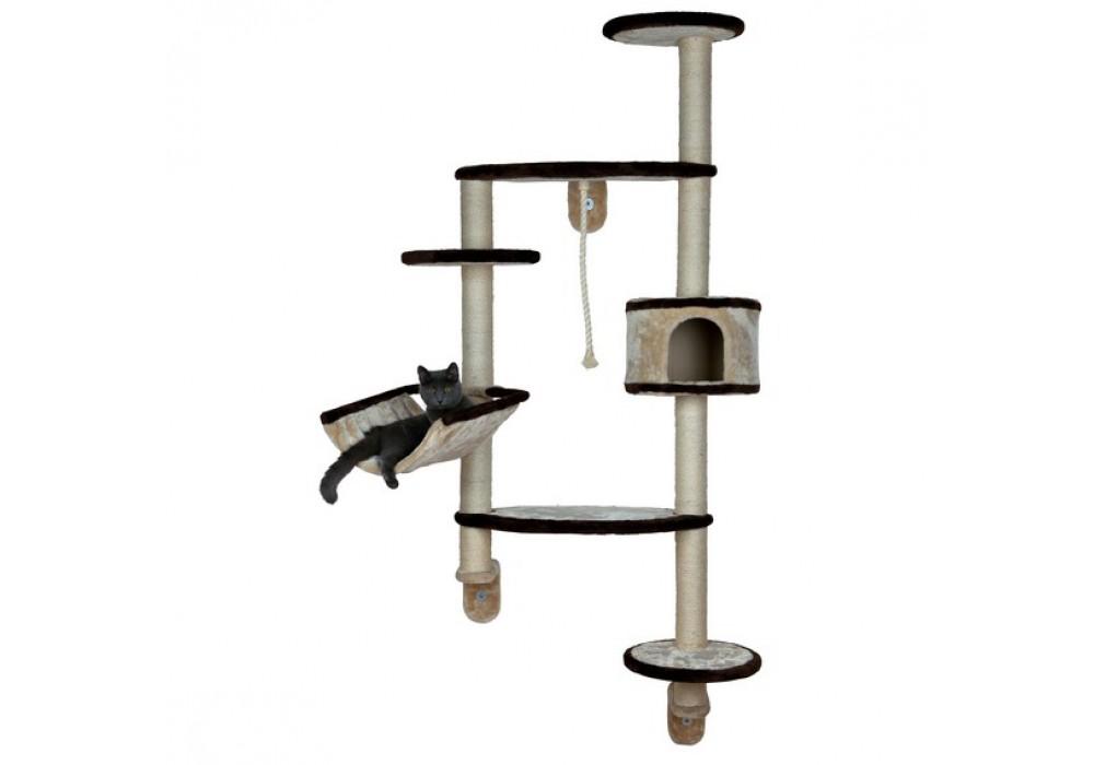 trixie kratzbaum francesco 194cm beige braun. Black Bedroom Furniture Sets. Home Design Ideas
