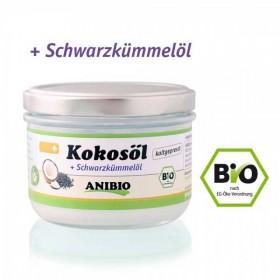 ANIBIO Kokosöl + Schwarzkümmelöl 200ml Hund