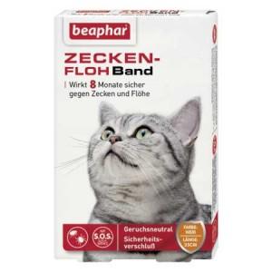 beaphar Zecken-Flohband Katze SOS 35cm