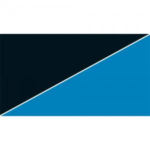 Foto Rückwand blau schwarz