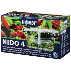 HOBBY Nido 4 Ablaichkasten mit Luftversorgung (13 x 10 x 11,5 cm) (61385)