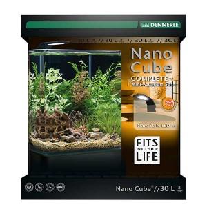Aquarien 80 X 40 X 35cm Mit Schrank Haustierbedarf Gelernt Aquarium Buche Gebraucht